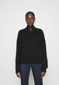 Zign - Half zip jumper - Trui - black