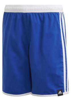 adidas Performance - 3-STRIPES SWIM SHORTS - Swimming shorts - blue