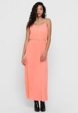 ONLY - Vestido largo - peach amber
