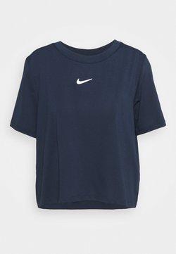 Nike Performance - T-shirt - bas - obsidian/white