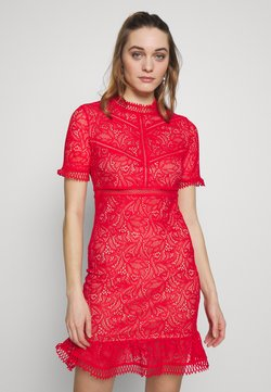 Bardot - THEODORA DRESS - Vestido de cóctel - fire red