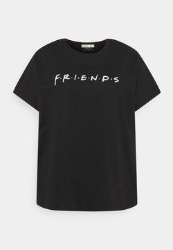Cotton On Curve - GRAPHIC TEE - T-Shirt print - black