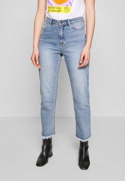 Object - OBJZANA - Straight leg jeans - light blue denim