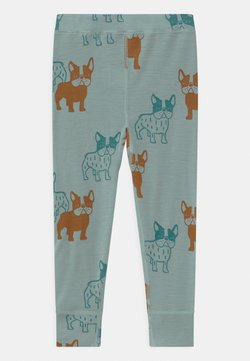 Lindex - MINI PRINT DOGS UNISEX - Caleçon long - light dusty aqua