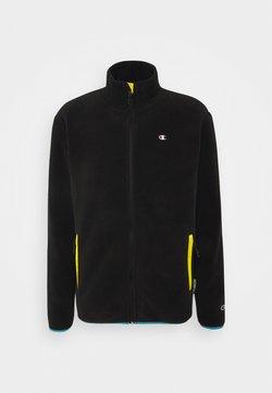 Champion Reverse Weave - FULL ZIP - Fleece jacket - black