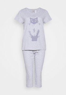 Triumph - CAPRI SET - Pyjama - grey combination