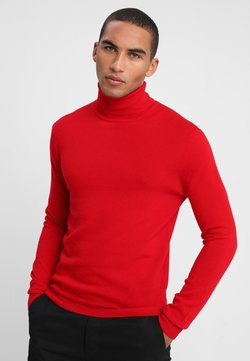 Benetton - BASIC ROLL NECK - Pullover - red