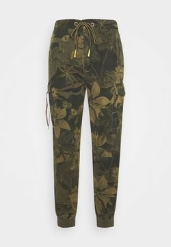 Desigual - PANT MALALA - Pantalon classique - verde militar