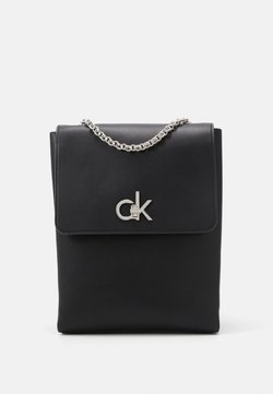 Calvin Klein - RE-LOCK BACKPACK - Reppu - black