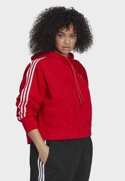 adidas Originals - CROPPED  - Kapuzenpullover - red
