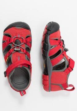 Keen - SEACAMP II CNX - Trekkingsandale - racing red/gargoyle