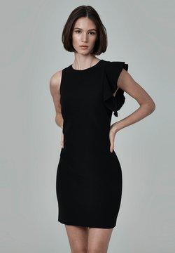 FELIPE ALBERNAZ - Vestido de tubo - black