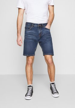 Shine Original - LOOSE FIT - Jeansshort - antique indigo