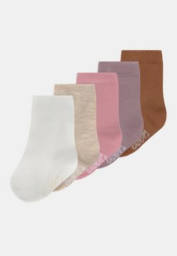 Ewers - BLUSH 5 PACK UNISEX - Calcetines - pink