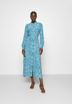 mbyM - BEATA - Blusenkleid - blue