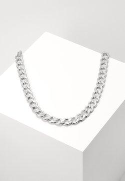 Urban Classics - BIG CHAIN NECKLACE - Halsband - silver-coloured