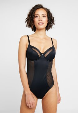 Pour Moi - VIVA LUXE UNDERWIRED - Body - black