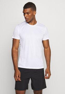 adidas Performance - RESPONSE AEROREADY RUNNING SHORT SLEEVE TEE - T-Shirt print - white