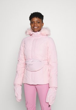 Missguided - SKI JACKET WITH MITTENS AND BUMBAG  - Winterjacke - pink