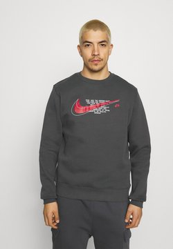 Nike Sportswear - COURT CREW - Sweatshirt - anthracite