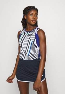 Lotto - TOP TEN TANK  - Funktionsshirt - bright white/sodalite blue