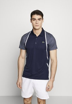 Lacoste Sport - DH4776  - Funktionsshirt - navy blue/white