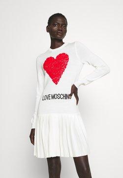 Love Moschino - Vestido de punto - rosso