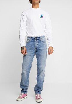 Carhartt WIP - KLONDIKE MILLS - Jeans Straight Leg - blue worn bleached