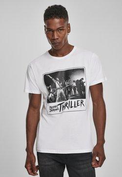 Mister Tee - MICHAEL JACKSON COVER  - T-Shirt print - white
