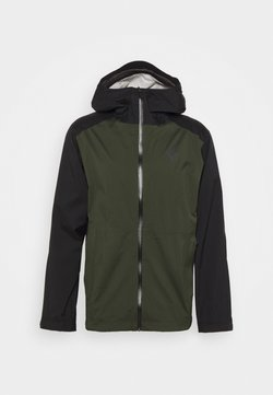 Black Diamond - STORMLINE STRETCH RAIN SHELL - Hardshelljacke - cypress/black