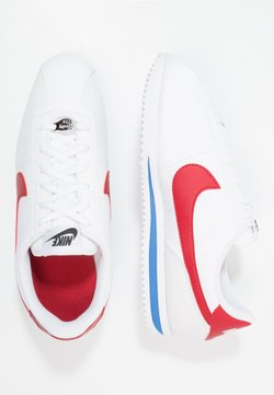 Nike Sportswear - CORTEZ BASIC  - Zapatillas - white / varsity red