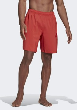 adidas Performance - SOLID SWIM SHORTS - Szorty kąpielowe - red