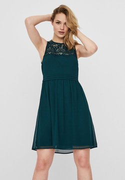 Vero Moda - VMVANESSA SHORT DRESS - Cocktailjurk - ponderosa pine
