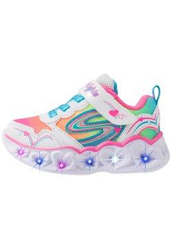 Skechers - HEART LIGHTS - Sneaker low - white/multicolor