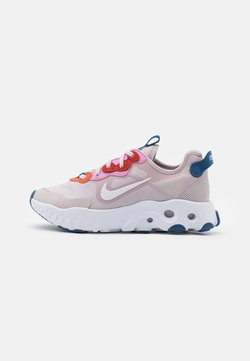 Nike Sportswear - REACT ART3MIS - Sneaker low - platinum violet/white/beyond pink/mystic navy/team orange