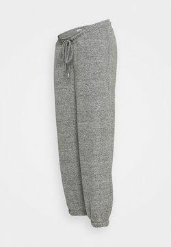 MAMALICIOUS - MLCAILA PANTS - Jogginghose - grey melange