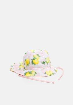 maximo - MINI GIRL FLAPPER - Hut - rosa/gelb