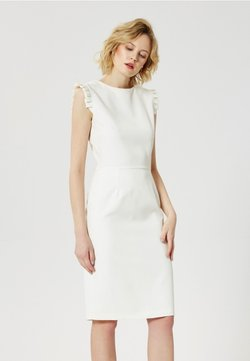 usha - NORMAL FIT - Etuikleid - white