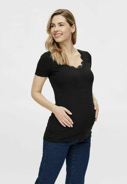 MAMALICIOUS - T-shirt basic - black