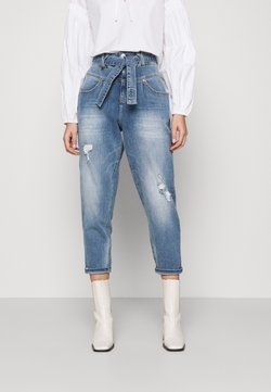 Herrlicher - KABIRA STRETCH - Relaxed fit jeans - blend destroy