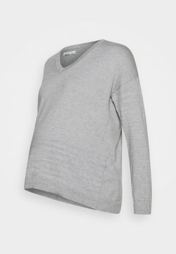 Anna Field MAMA - Jersey de punto - light grey