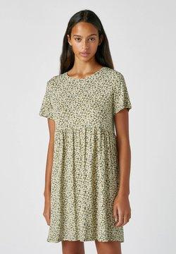 PULL&BEAR - Sukienka letnia - mottled dark green
