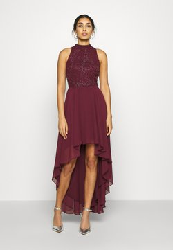 Lace & Beads - AVERY DRESS - Ballkleid - burgundy