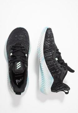 adidas Performance - ALPHABOUNCE+ PARLEY - Juoksukenkä/neutraalit - core black/green/footwear white