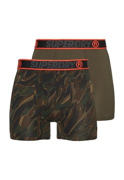 Superdry - 2 PACK - Shorty - nordic khaki/canopy camo