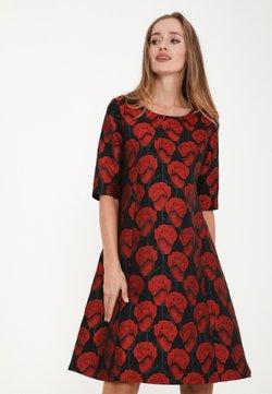 Madam-T - ASIDA - Cocktailkleid/festliches Kleid - schwarz, rot