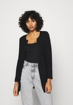 ONLY - ONLLESLY LECO CARDIGAN - Gilet - black