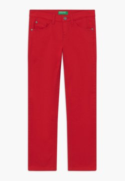 Benetton - Slim fit jeans - red
