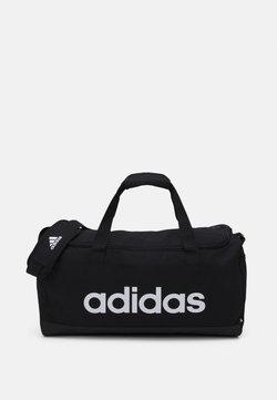 adidas Performance - LINEAR DUFFEL UNISEX - Sporttasche - black/white