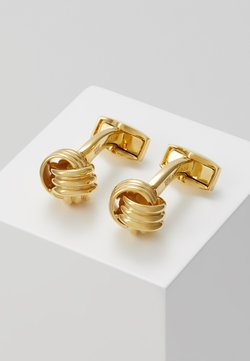 Tateossian - KNOT - Manschettenknopf - gold-coloured